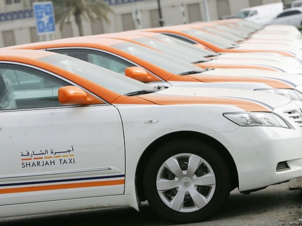 Traveling Around Sharjah by Taxi