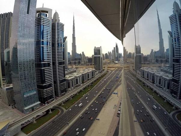 Traveling to Sharjah